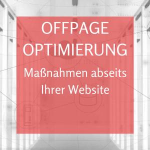 Offpage Optimierung von Webseiten