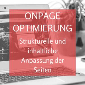Onpage Optimierung von Webseiten
